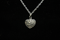 American Heart Necklace