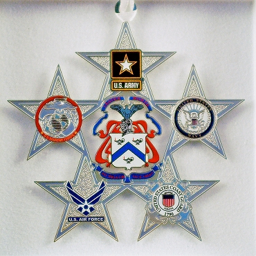 Military Service Star Ornament