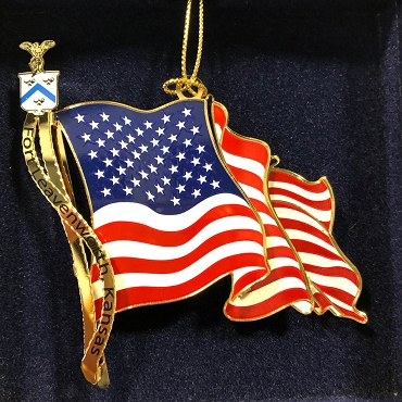 US Flag Ornament
