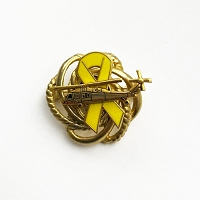 Deployed Helicopter Pilot Brooch